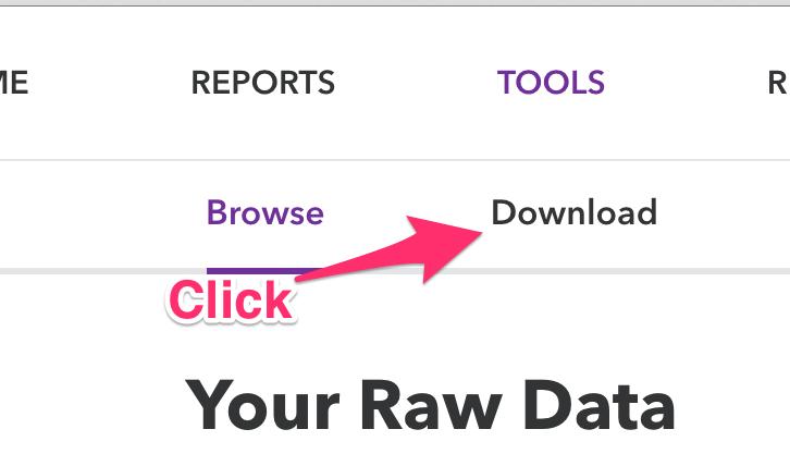 raw_data_menu